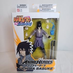 Bandai - Anime Heroes Naruto Uchiha Sasuke Action